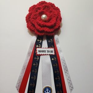 Other - Nautical mom to be corsage
